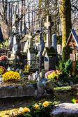 Old cemetery Na Peksowym Brzyzku in Zakopane in Poland — Стоковое фото