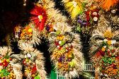Dry daisy bouquet in Zakopane, Poland — Foto de Stock