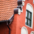 Traditional architecture in famous polish city, Torun, Poland. — Stock Photo