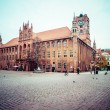 Stock Photo: Gothic tower of town hall in Torun-city on The World Heritage List.