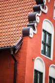Traditional architecture in famous polish city, Torun, Poland. — Stock Photo