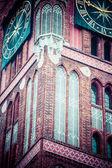 Traditional architecture in famous polish city, Torun, Poland. — Stok fotoğraf