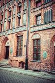 дом николая коперника (dom mikolaja коперника), торунь, польша — Стоковое фото