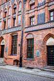 House of Nicholas Copernicus (Dom Mikolaja Kopernika), Torun, Poland — Stock Photo