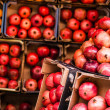 Pomegranates bunch at old town Jerusalem. Israel. — Stock Photo