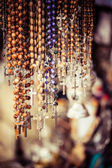 Crosses sold in Via Dolorosa street market, Jerusalem Old City, Israel. — Stockfoto