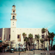 St. Peter's Church is a Franciscan Church in Jaffa, part of Tel Aviv, in Israel. — Stock Photo #36589091