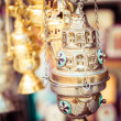 Shop with religion souvenir at the old city of Jerusalem — Stock Photo #36589867