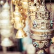 Shop with religion souvenir at the old city of Jerusalem — Stock Photo #36589881
