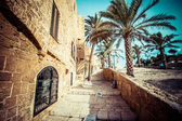The old streets of Jaffa, Tel Aviv, Israel — Stock Photo