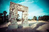 Arch i jaffa, israel — Stockfoto