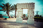 Arch in Jaffa, Israel — Stock Photo