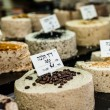 Traditional cakes on market stand in Israel — Stock Photo