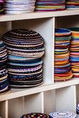 Yarmulke - traditional Jewish headwear, Israel. — Foto Stock