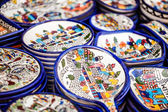 Traditional ceramic in local Israel market. — Стоковое фото
