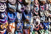 Yarmulke - traditional Jewish headwear, Israel. — Stockfoto