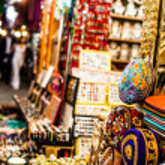 Traditional street market in Jerusalem, Israel. — Stock Photo #36656705