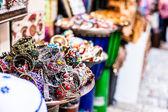 Traditional street market in Jerusalem, Israel. — Stock Photo