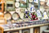 Ceramic bells as souvenir from Jerusalem, Israel. — Photo