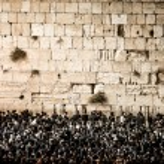 Prayers at the Western Wall, Jerusalem, Israel. — Stock Photo #36664195