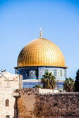 Mousque of Al-aqsa (Dome of the Rock) in Old Town - Jerusalem, Israel — Stock Photo
