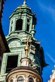Wawel Cathedral - famous Polish landmark on the Wawel Hill in Cracow — Stock Photo