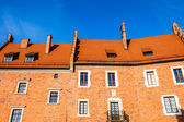 Wawel Castle square on sunny summer day in Krakow, Poland — Stock Photo