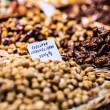 Dried fruits at the market (La Boqueria, Barcelona famous place) — Stock Photo #38248413