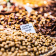 Dried fruits at the market (La Boqueria, Barcelona famous place) — Stock Photo #38248437