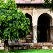 Lodi Gardens. Islamic Tomb (Seesh Gumbad and Bara Gumbad) set in landscaped gardens. 15th Century AD. New Delhi, India. — Stock Photo #38249793