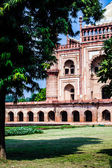 Safdarjung's Tomb is a garden tomb in a marble mausoleum in Delhi, India — Stock Photo
