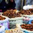 Dried fruits in local Leh market, India. — Stock Photo #38250129