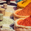 Indian colored spices at local market. — Stock Photo #38250863