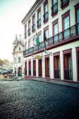 View of the unesco world heritage city of Ouro Preto in Minas Gerais Brazil — Stock Photo
