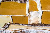 Peru, Salinas de Maras, Pre Inca traditional salt mine (salinas). — Stock Photo