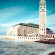 Stock Photo: Mosque of HassII in Casablanca, Africa
