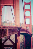 Golden Gate Bridge, San Francisco, USA — Stock Photo