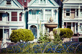 Alamo Square, San Francisco, USA — Stock Photo