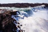 Niagara Falls in winter.  — Stock Photo