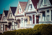 Alamo Square in San Francisco six — Stock Photo