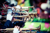 Brass band parade — Stockfoto