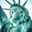 The Statue of Liberty at New York City — Stock Photo