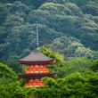 Three-storied pagoda at Taisan-ji Temple nearby Kiyomizu-dera Temple in Kyoto — Stock Photo #46343201