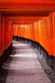 Fushimi Inari Taisha Shrine in Kyoto, Japan  — Fotografia Stock
