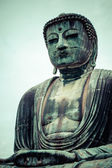 The Great Buddha (Daibutsu) on the grounds of Kotokuin Temple in Kamakura, Japan.  — Stock Photo