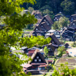 Traditional and Historical Japanese village Ogimachi - Shirakawa-go, Japan — Stock Photo