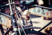 Old bicycle in Japan — Stock Photo