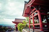Front gate at Kiyomizu-dera Temple in Kyoto, Japan.  — Stock Photo