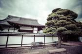 Kioto, ogród i świątynia — Zdjęcie stockowe