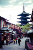 Toji Temple pagoda tower in Kyoto  — Stock Photo